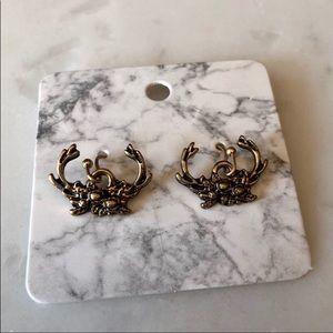 Antler Crown Earrings